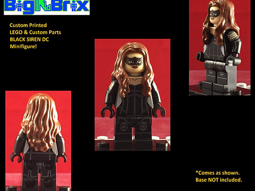 Black Siren DC Custom Printed Minifigure
