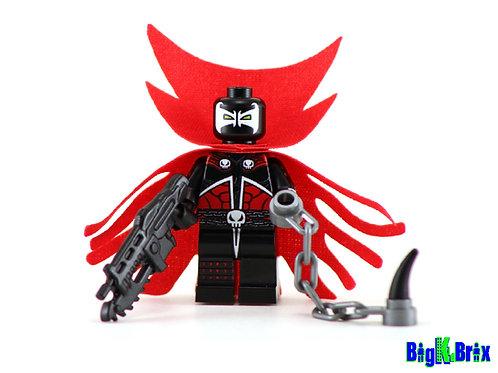 SPAWN Antihero Custom Printed & Inspired Lego Image Comic Minifigure!