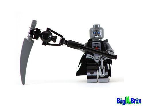 NEKRON Blackest Night Custom Printed & Inspired Lego DC Minifigure