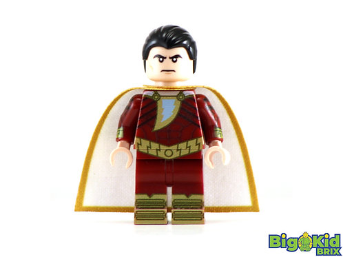 SHAZAM Custom Printed on Lego Minifigure! DC