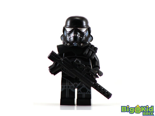 SHADOW STORMTROOPER Custom Printed on Lego Minifigure! Star Wars