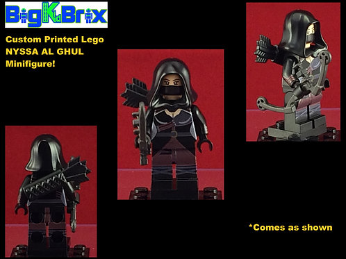 Nyssa Al Ghul DC Custom Printed Lego Minifigure