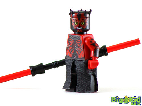 DARTH MAUL Custom Printed on Lego Minifigure! Star Wars