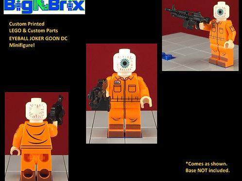 EYEBALL Goon Joker Custom Printed & Inspired Lego DC Minifigure