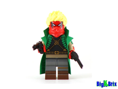 GRIFTER Custom Printed & Inspired Lego DC Minifigure