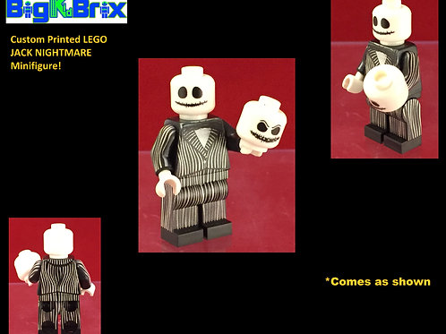 Jack Nightmare Christmas Custom Printed Minifigure