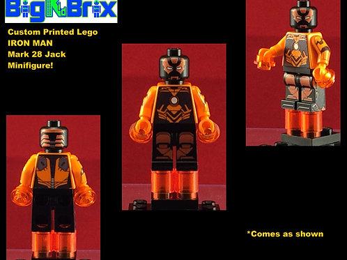 Iron Man Mark 28 Jack Marvel Custom Printed Minifigure