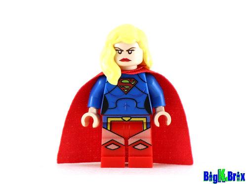 SUPERGIRL New 52 Version Custom Printed Lego Minifigure
