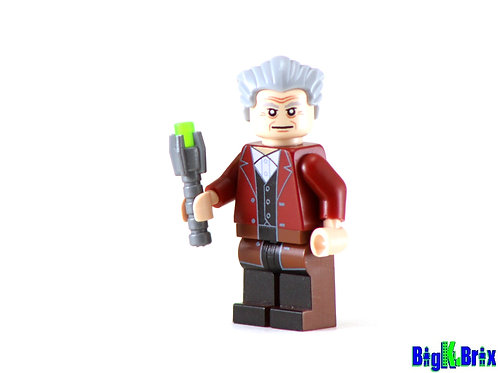 DOCTOR WHO #12 Custom Printed on Lego Minifigure! Dr. Who