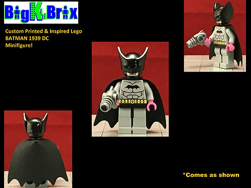 BATMAN 1939 Custom Printed & Inspired DC Lego Minifigure