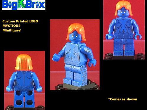 Mystique Movie Version Marvel Xmen Custom Printed Minifigure