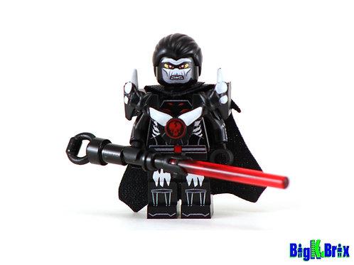 DARTH NIHL Star Wars Custom Printed Lego Minifigure w/Custom Gear
