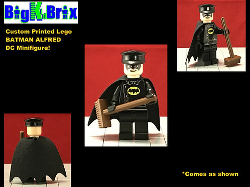 BATMAN Alfred DC Custom Printed Lego Minifigure