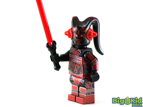 DARTH ONYXIA Custom Printed on Lego Minifigure! Star Wars