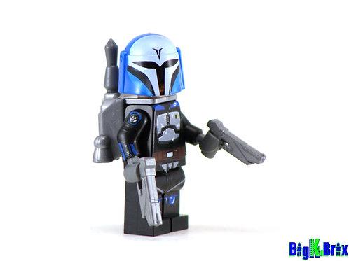 BO KATAN Custom Printed on Lego Minifigure! Star Wars Mandalorian
