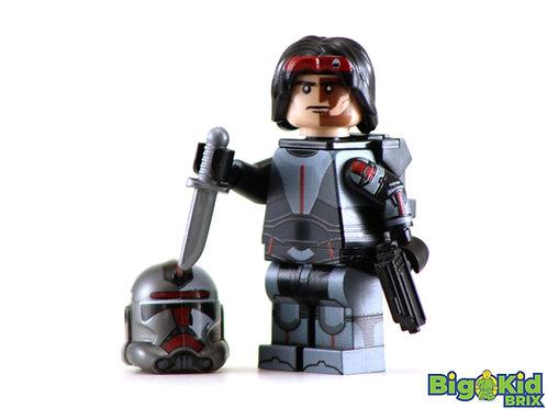 HUNTER Bad Batch Custom Printed on Lego Minifigure! Star Wars
