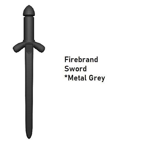 FIRE BRAND SWORD Custom for Lego Minifigure! Medieval