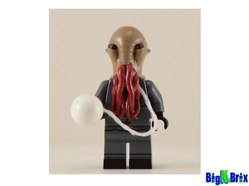 The Ood Dr. Who Custom Printed on Lego Minifigure!