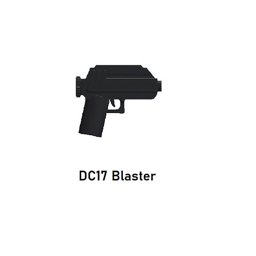 DC17 Blaster Custom for Lego Minifigures! Star Wars