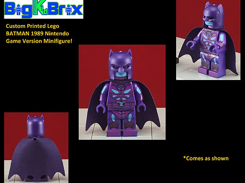 Batman Nintendo NES Inspired DC Custom Printed Minifigure