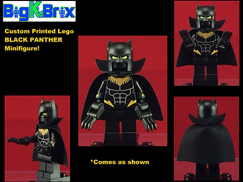 Black Panther Marvel Version #2 Custom Printed Minifigure