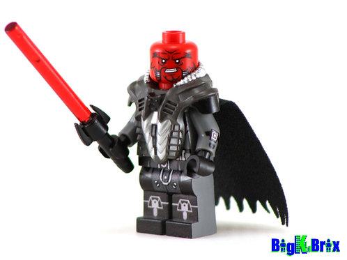 LORD SCOURGE Custom Printed on Lego Minifigure! Star Wars