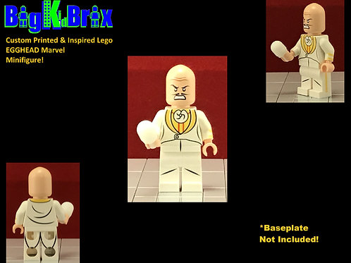 EGG HEAD Custom Printed & Inspired Lego Marvel Minifigure