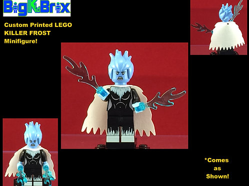 Killer Frost DC Custom Printed Minifigure