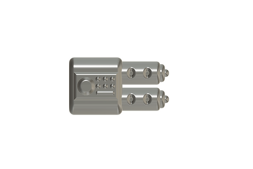 WEAPON ATTACHMENTS for GAUNTLETS Custom for Lego Minifigures!