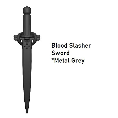 BLOOD SLASHER SWORD Custom for Lego Minifigure!