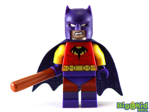 BATMAN of ZUR-EN-ARRH Custom Printed on Lego Minifigure! DC