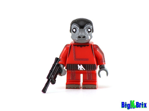 SNAGGLETOOTH Red Version Custom Printed & Inspired Lego Star Wars Minifigure