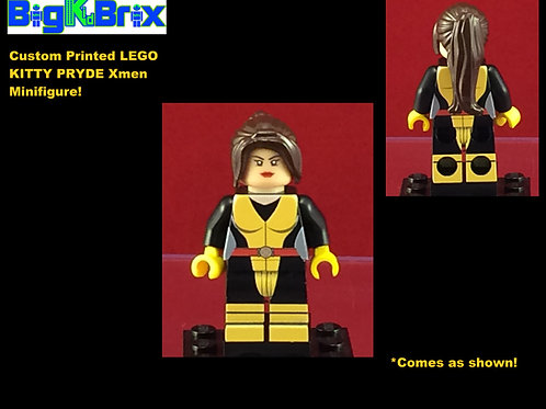 Kitty Pryde Marvel Xmen Custom Printed Lego Minifigure