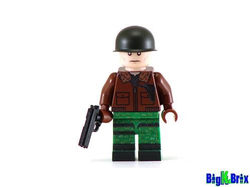 GENERAL HAWK Custom Printed on Lego Minifigure! GI JOE