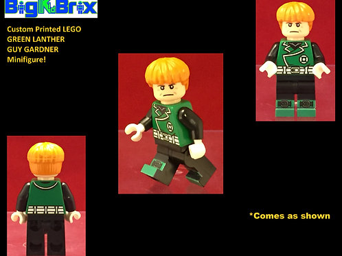Green Lantern Guy Gardner DC Custom Printed Minifigure