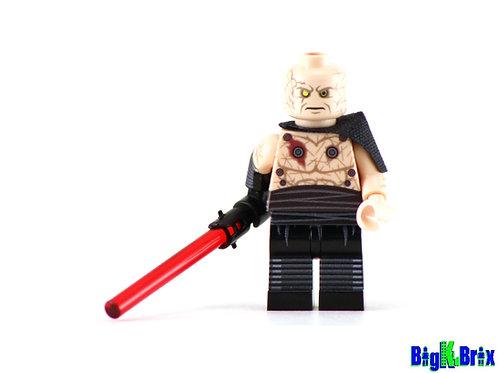 DARTH SION Custom Printed on Lego Minifigure! Star Wars