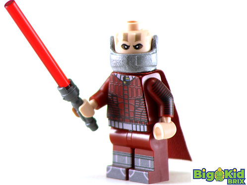 DARTH MALAK Custom Printed on Lego Minifigure! Star Wars