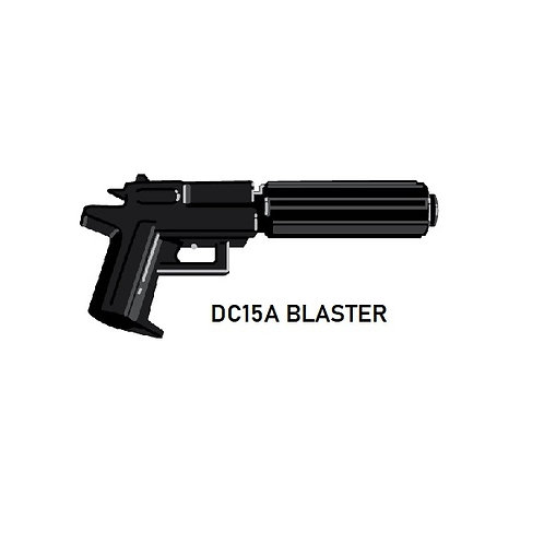 DC17-A Custom Blaster for Lego Star Wars Minifigures Minifigs