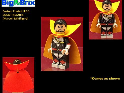Count Nefaria Marvel Custom Printed Minifigure