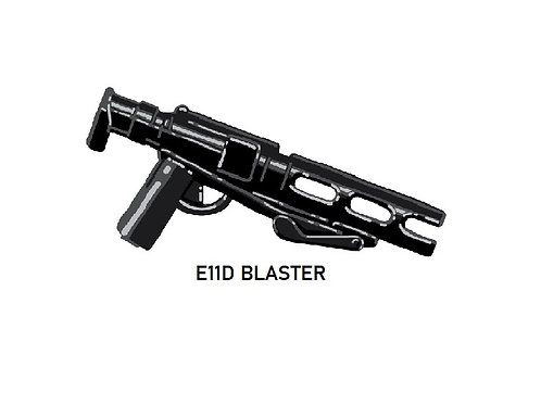 E11D Custom Death Trooper Blaster for Lego Star Wars Minifigure
