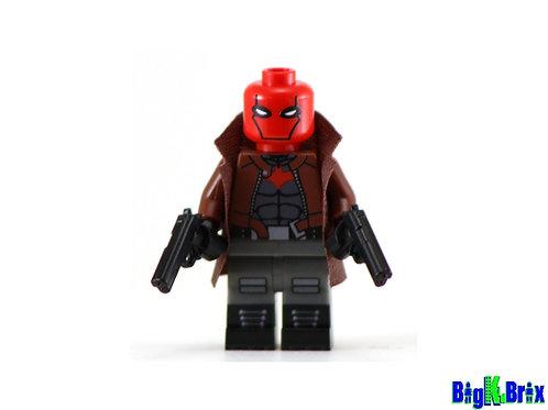 RED HOOD Custom Printed on Lego Minifigure! DC