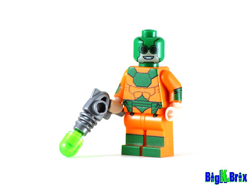 MIRROR MASTER Custom Printed on Lego Minifigure! DC Villain