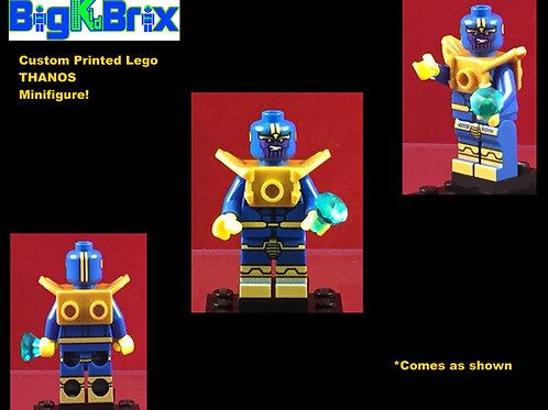 THANOS Custom Printed & Inspired Lego Marvel Minifigure