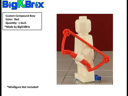 Bow Compound RED Custom for Lego Minifigures Minifigs