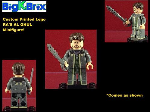 Ra's Al Ghul DC Custom Printed Minifigure