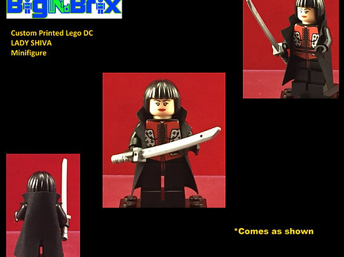 Lady Shiva DC Custom Printed Minifigure