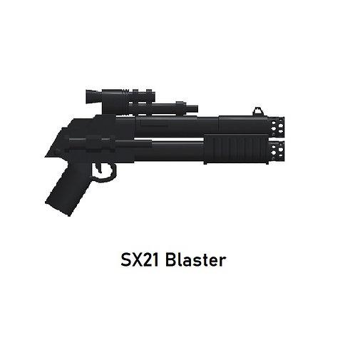 SX21 BLASTER Custom for Lego Minfigures! Star Wars