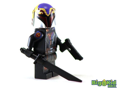 SABINE WREN Epic Custom Printed on Lego Minifigure! Star Wars