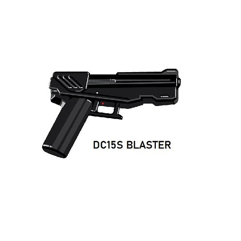 DC15S Custom Blaster for Lego Star Wars Minifigures Minifigs