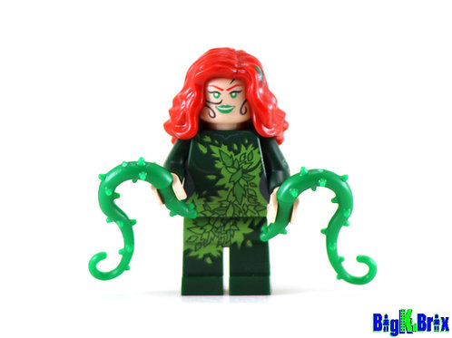 POISON IVY Custom Printed on Lego Minifigure! DC